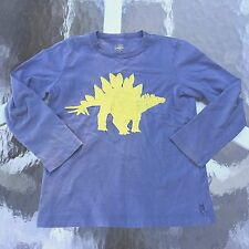 MINI BODEN Boy's AWESOME STEGOSAURUS shirt. 5-6 years GOOD!! WOW!