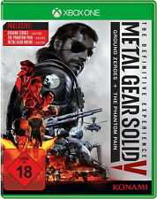 Metal Gear Solid V: The Definitive Edition (Microsoft Xbox One, 2016)