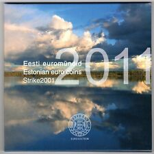 Euro ESTONIA 2011 in Folder Ufficiale