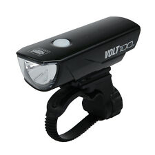 Cateye VOLT100 Bicycle Head Light USB Rechargeable Bike Light Black Color