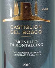 Brunello MONTALCINO 2010 DOCG Castiglion del Bosco * secolo-ANNATA