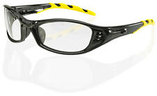 B Brand FLORIDA Safety Eye Wear Stylish Spectacles/Glasses CLEAR Lens