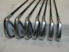 KZG MC-IIx Golf Club Iron Set 4-PW w/ Graman CF310 Graphite shafts Kelmac RH