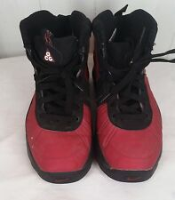 Nike Air Max Bakin Boot Grade School red black boys youth size 6