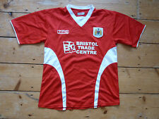size XL BRISTOL CITY FOOTBALL SHIRT  + HOME SOCCER JERSEY 2005 SEASON MENS RETRO