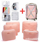 5PCS Waterproof Clothes Storage Bags Packing Cube Travel Luggage Organizer Bag