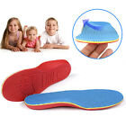 Kids Child Orthotic Arch Support Shoe Insoles Pads Cushion Flat Feet Pain Relief