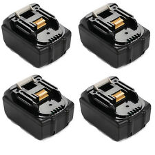 4x For Makita 3.0AH 18V BL1830 BL1815 LXT Lithium Ion Battery Heavy Duty