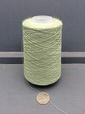 200G 100% WORSTED WOOL FINE 2/36NM YARN PALE GREEN T3156