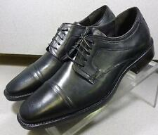 201277 MS50 Men's Shoes Size 10 M Black Leather Lace Up Johnston & Murphy