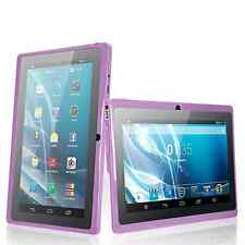 "7"" Android 4.4 HDMI Quad Core Dual Camera 16GB Tablet PC Bluetooth EU Purple"