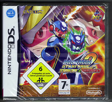 Nintendo DS Megaman Starforce 2 Zerker X Saurian (2008), New & Factory Sealed