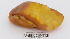 NATURAL BUTTERSCOTCH RAW UNPOLISHED BALTIC AMBER PIECE 13.9 GRAMS-RS020 RRP£140