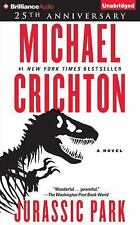 JURASSIC PARK (25th Anniversary) unabridged audio book on CD by MICHAEL CRICHTON