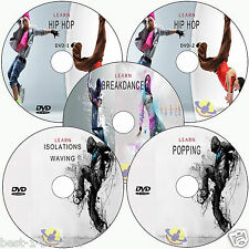 LEARN TO DANCE: BREAK,HIP HOP,POPPING,STREETDANCE WEIGHT LOSS FITNESS VIDEO DVD