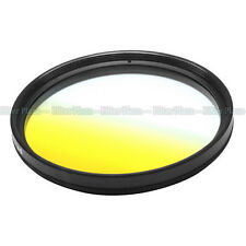 67mm 67 mm Graduated Gradual Yellow Color Special Effect Lens Filter Screw Mount