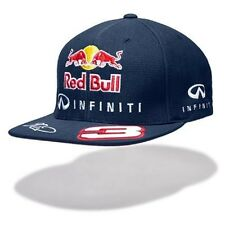 CAP Infiniti Red Bull Racing Formula One 1 F1 Ricciardo No.3 Flat Brim NEW US