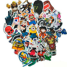 100 pcs Skateboard Sticker Brand NEW Stickers Graffiti Laptop Luggage Car Decals