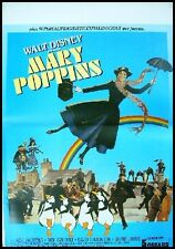 MARY POPPINS Affiche Cinéma Originale 53x40 Movie Poster Julie Andrews