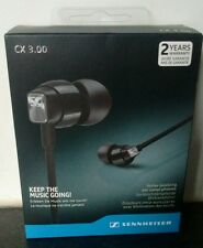 NEW Sennheiser CX 3.00 In Ear Canal Earphones Headphones Black