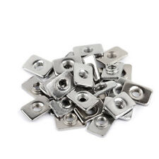 200x Tee Nuts V slot  / T slot 5mm aluminum tee slot extrusion tee nut 200 pcs