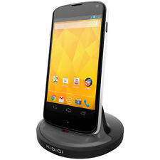 Kidigi 2A Rugged Case Dock Charger Charging Cradle for LG Google Nexus 4