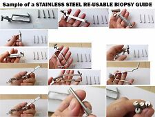 Biopsy Guide for Aloka Transducers - Stainless steel