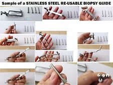 Biopsy Guide for Mindray Transducers - Stainless steel