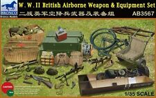 BRONCO AB3567 1/35 WWII BRITISH AIRBORNE WEAPONS & EQUIPMENT SET BNIB FREE P+P