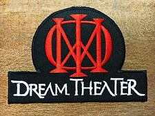 New Dream Theater Sew Iron On Patch Heavy Metal Hard Rock Band Music Embroidered