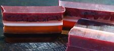 FRANKINCENSE, OAKMOSS & VANILLA with MOROCCAN RED CLAY SOAP Removes Toxins GIFTS