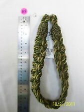 "Curtain Tie-Back-Braided -22""Lx1 3/8W Five colors to pick from."