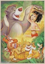 Disney's Jungle Book X-Stitch Pattern CD Mowgli, Baloo, King Louie, Shere Khan