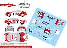 DÉCALS 1/32 réf  80 Toyota GT Four 1er Boucles de Spa 1997 Verreydt - Jamar N°5