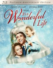 PRE-ORDER - IT'S A WONDERFUL LIFE (1946 Platinum edition)  BLU RAY - Region free