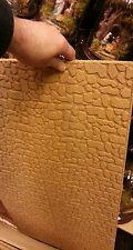 1 foglio di sughero 33x50 cm spessore 1 cm pietre presepe  nativity crib pastori