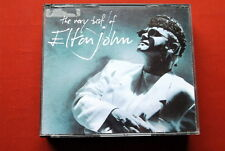 ELTON JOHN THE VERY BEST OF  RARE YUGOSLAVIAN RTB LABEL 1990 DBL CD