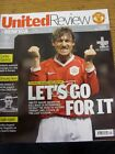 06/12/2006 Manchester United v Benfica [Champions League] . Good condition unles