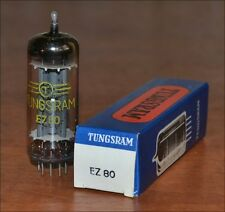 EZ80 6V4 Tungsram Tube. NIB NOS. New in Box