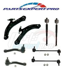2008-2013 ROGUE LOWER CONTROL ARMS TIE ROD END SET & FRONT SWAY BAR LINK KIT