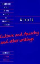 Cambridge Texts in the History of Political Thought Ser.: Arnold : Culture...