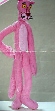 "#76 DK 15"" Pink Panther Toy Knitting Pattern"