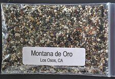 MONTANA de ORO (MOUNTAIN OF GOLD) ~ LOS OSOS, CA  BEACH SAND sample