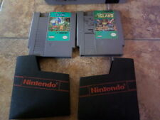 ADVENTURE ISLAND 1 AND 2 NES LOT