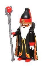 Playmobil Figure Mystery Series 10 Castle Wizard Sorcerer Cape Staff 6840 NEW