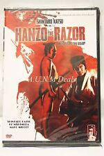 hanzo the razor shintaro katsu ntsc import dvd English subtitle