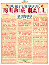 Bumper Of Music Hall Songs Piano Voice Guitar Learn to Play FABER Music BOOK