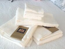 Ralph Lauren The Avenue Towel 2bath 2 hand 4 face White  Egyptian cotton set NWT