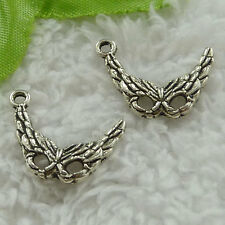 free ship 340 pieces tibet silver blinder charms 22x17mm #3417