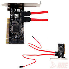 2 Port SATA to PCI Sil3114 Serial ATA RAID PCI Controller Adapter Card 3TBx2 HDD
